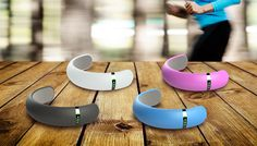 A fitness band you wear around your ankle!