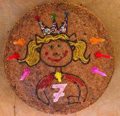 Birthday cake. Birthday Cake, Cookies, Desserts, Food, Biscuits, Birthday Cakes, Deserts, Cookie Recipes, Dessert