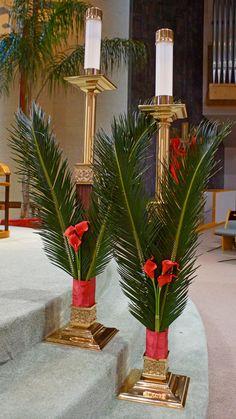 Palm Sunday Epiphany of The Lord Catholic Church. Katy, Texas