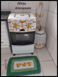 IDeia Artesanato: Kit cozinha Catavento. https://www.facebook.com/IDeiaArtesanato