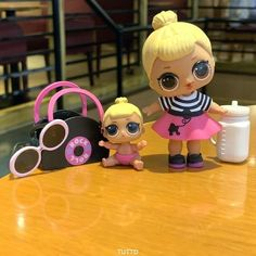 Big /& lil sister  LOL Surprise Lil Sisters dolls eye spy Drag Racer lot 2 SDUS1