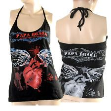 want this shirt so bad Band Merch, Band Tees, Papa Roach, Roaches, Hot Topic, Active Wear, Arm, Cute Outfits, Punk