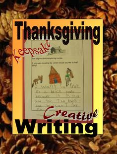 Thanksgiving Creative Writing: What's a Keepsake Book? It's made of the unique, unexpected, unforgettable, and priceless, things that kids say—and then write about. Amazing things happen when you ask kids (or grownups) about their opinions, dreams, and wishes.