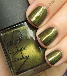 nars mash nail polish wm The ALU Archives NARS Mash & Platoon Nars Nail Polish, Cute Simple Nails, Nail Envy, Colorful Nail Designs, Cute Nail Art, Nail Polish Designs, Fabulous Nails, Green Nails, Love Nails
