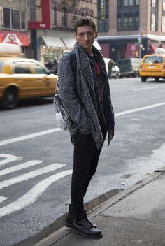 CLR Street Fashion: Parker in New York City