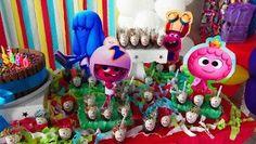 Docinhos - Festa de aniversário do Marcos Júnior - 3 anos. Tema Jelly Jam - blog Um lar para Amar, por Carla Nascimento.