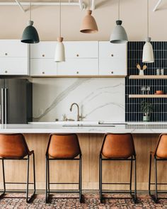 Loving our Reform fronts in out kitchen at Studio 125!