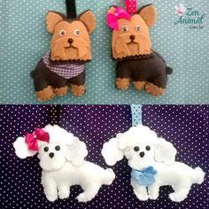 Zen Animal - Chaveiros de Feltro Cachorros - Petshop Loja Online ...