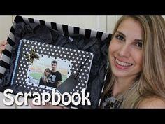Presente Personalizado: Álbum de fotos - SCRAPBOOK - YouTube