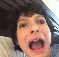 fandom edits — finn wolfhard funny icons  like and reblog if...