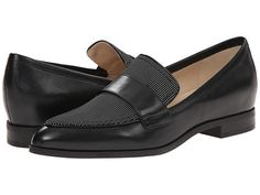 Nine West Oldschool Black/Black White/Black Goat Banaras/Mini Men Dot PU/Lux Patent - 6pm.com