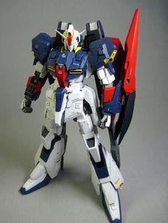 GUNDAM GUY: MG 1/100 Z Gundam - Customized Build