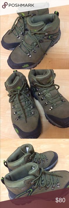 NORTH FACE TREKKING / HIKING BOOTS Worn once. Perfect condition. Get em for this winter season and get outside!!!!! The North Face Shoes