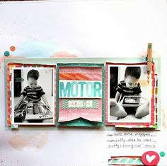 Made at Number 27: Scrapbooking: Amy Tangerine