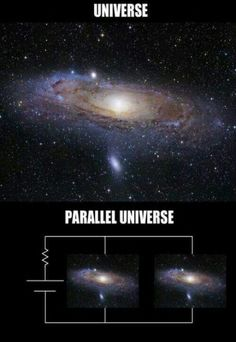 Universe VS Parallel Universe? Get it? No? Okay...