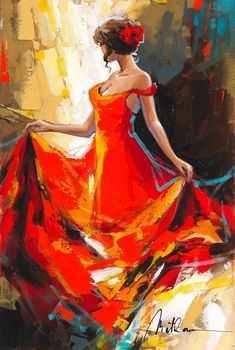 Browse Artwork by Anatoly Metlan - Park West Gallery abstracto Browse Artwork by Anatoly Metlan Dance Paintings, Indian Art Paintings, Images D'art, Dance Art, Beautiful Paintings, Figure Painting, Figurative Art, Painting Inspiration, Art Pictures