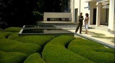 VIDEO Daniel Ost Landscape Art, Landscape Design, Garden Design, Daniel Ost, Flora Design, Art Deco Home, Design Competitions, Terrace Garden, Exterior