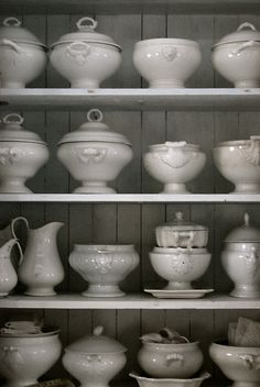 Ironstone…Yep just a little envious, love the collection and the look.
