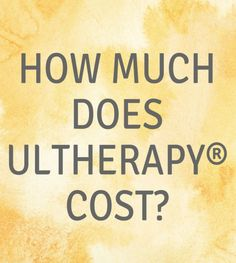 Since the treatment is so personalized and depends on the treatment area, consult your local doctor to get the most accurate quote for Ultherapy®. Find a doctor near you: http://fal.cn/QWyX