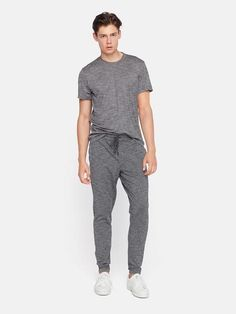 2db982cbec Minimalist men grey jogger pants | Minimalist men grey t-shirt | Minimalist  men style