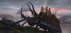 the Chtin Swarm, Alexander Nanitchkov on ArtStation at https://www.artstation.com/artwork/loGwY