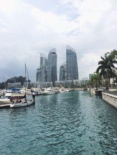 #Reflections #Marina #KeppelBay #Singapore