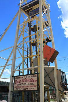 Went 1,000 feet underground that year I did summer camp in CO - Mollie Kathleen Mine