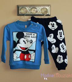 Komplet bluza i spodnie dla chłopca