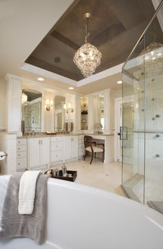 Stretch ceilings in the bathroom the ideal choice photo 12