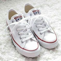 NEW converse Zero signs of wear only tried on. Just don't fit me Converse Shoes Sneakers Converse Classic, White Converse Outfits, Converse Star, Converse Sneakers, Converse All Star White, Cheap Converse, All Star Shoes, Sneakers Mode, Sneakers Fashion
