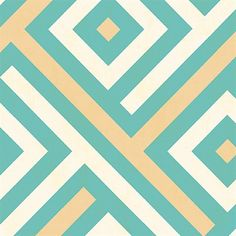 Chevron blocks accented with shimmering metallic stripes complete the look of this chic geometric wallpaper pattern. Graphic, bold, and balanced, the simple yet striking design adds a rhythm and interest to any wall surface. The lively color palette Geometric Wallpaper Turquoise, Chevron Wallpaper, Metallic Wallpaper, Retro Wallpaper, Modern Wallpaper, Wallpaper Samples, Pattern Wallpaper, Flower Wallpaper, Design Repeats