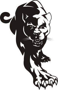 ... Panther Clip Art ...