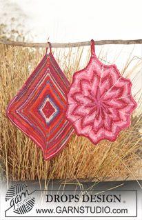 knit potholders