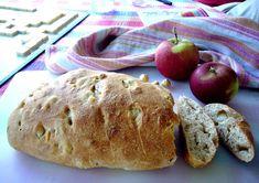 Pain à la pomme et aux noisettes