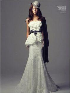 Fujii Mina in My Wedding Magazine
