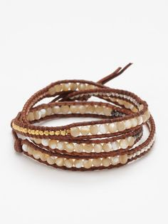 Chan Luu Wrap Bracelet.  $185.00    jackiedalessio.com