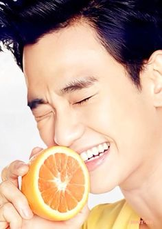 Kim Soo Hyun for Jeju Air promo pic