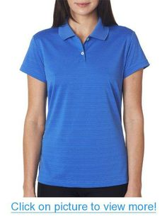 Adidas Golf Ladies Textured S-Sleeve Polo Business Outfits Women, Business Clothes, Polo Shirt Women, Adidas Golf, Golf Fashion, Short Sleeve Polo Shirts, Golf Shirts, Tees, Golf Outfit
