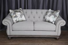 Victoria Loveseat - Greystone by Magnussen Home