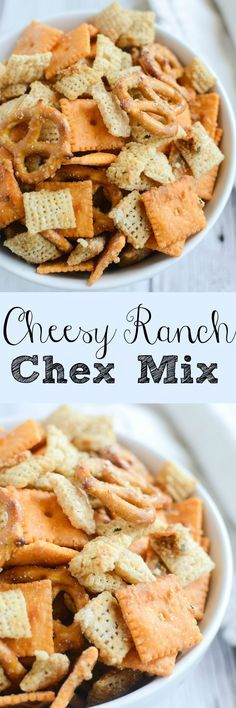 Cheesy Ranch Chex Mix