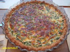 Keto Recipes, Healthy Recipes, Healthy Food, Sweet And Salty, Quiche, Goodies, Food And Drink, Baking, Vegetables