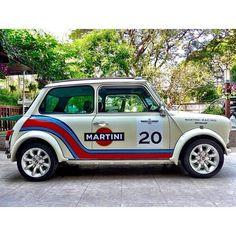 Mini Martini...👏👏👏 Owner: @dannykai911 Love it👌 Share it 👇 Like it ✌ Thanks 👏 🚗Follow @justminicooper🚗 TAG Friends Below! & Double Tap! 🔹🔹🔹🔹🔹🔹🔹🔹🔹🔹🔹 🔹🔹🔹🔹🔹🔹 #carsofinstagram #instacar #instacars #carlifestyle #carstagram #vintagecars #oldcar #cargasm #mini #minicooper #minicoopers #britishcars #minisofinstagram #minilife #ohsoretro #minifan #minicar #miniclub #miniclassic #minigirls #miniuk #minioftheday #classicmini #classicminis #globalmini #minimania #ukminis #... Mini Cooper Custom, Mini Cooper Classic, Classic Mini, Classic Cars, Martini, Mini Uk, Kei Car, Mini Copper, Automobile