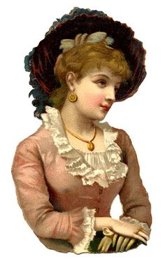 Free Vintage Image - Victorian Woman - Scrap - The Graphics Fairy