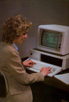 1985 computer woman