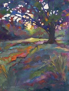 Louisiana Edgewood Art Paintings by Louisiana artist Karen Mathison Schmidt: Hey!