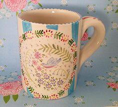 Pottery * Bird Song Mug