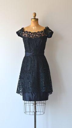 Terry Allen cocktail dress vintage 1950s dress by DearGolden
