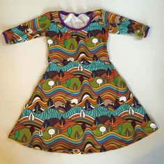 Tiny Vikings breastfeeding dress.