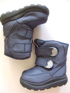 CHAMPION Winter Snow Boots Size-5 Blue Very Good  #Champion #Boots