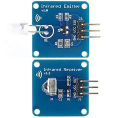 Mini 38KHz IR Infrared Transmitter Module + IR Infrared Receiver Sensor Module For Arduino RPI STM32
